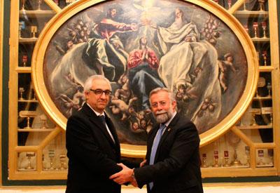 Ramos pedirá al Patronato de la Virgen de la Caridad de Illescas la cesión temporal de cuadros de El Greco