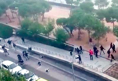 Implicados varios jóvenes de Talavera en la reyerta de Madrid Río