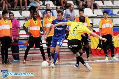 El FS Talavera retoma el pulso de la competición en Torres de la Alameda
