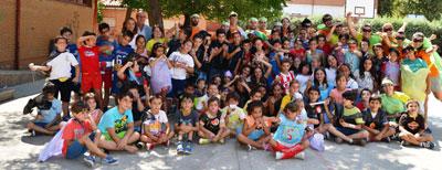 300 participantes en los Campamentos Urbanos de Talavera
