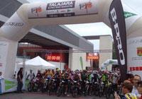 4.000 ciclistas plantan cara al clima en Talajara