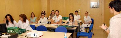 Enfermeros del Área Integrada de Talavera se forman en Cuidados de Enfermería en Accesos Venosos
