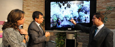 """Page planteará la realización de dos pasarelas peatonales sobre el Tajo que """"revolucionarán la movilidad en la zona"""""""