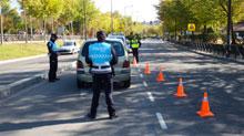 Detenido al negarse a realizar las pruebas de alcoholemia tras un accidente
