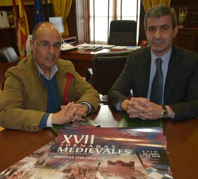 Apoyo de Diputación a las Medievales de Oropesa