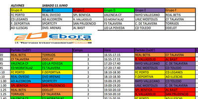 Desde esta tarde, la Ébora Formación Cup en El Prado