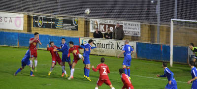 Mal partido del CF Talavera que sale goleado de Amorebieta