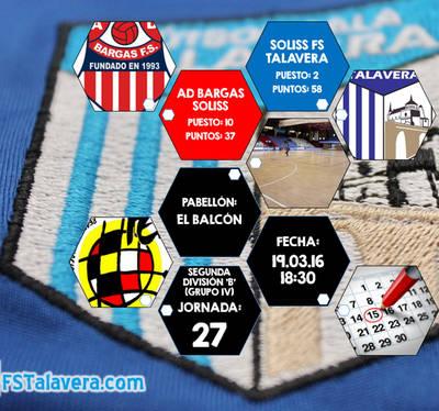 FS Talavera-AD Bargas, llega el derbi provincial