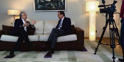 """José Bono estará este martes en """"Tercera Pantalla"""""""