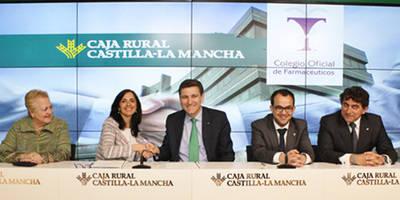 Caja Rural CLM proporciona 60 millones a los farmacéuticos de Toledo