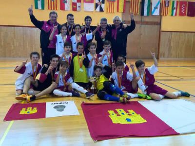 CLM Campeona de España alevín de FS