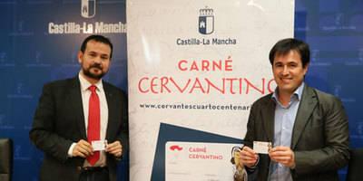 El Gobierno de Castilla-La Mancha presenta el Carné Cervantino