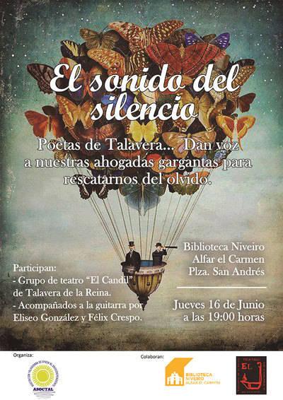 Recital de Poesía solidario en Talavera