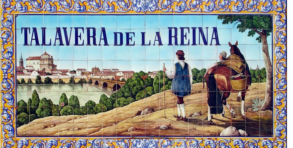 Rajoy aprueba la cer mica de talavera como bic la voz - Talavera dela reina ceramica ...