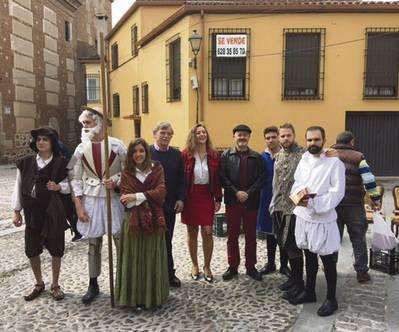 Cervantes en el Mercado de San Jerónimo