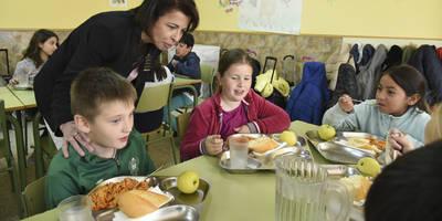 La Junta logra la recuperación plena del servicio de comedor escolar