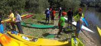 Éxito del descenso de Mondas del Talavera Talak
