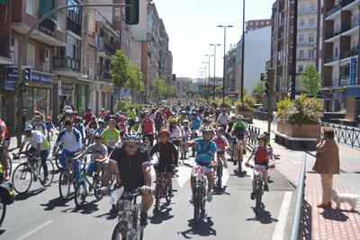 Talavera celebra por todo lo alto su Día de la Bicicleta más popular
