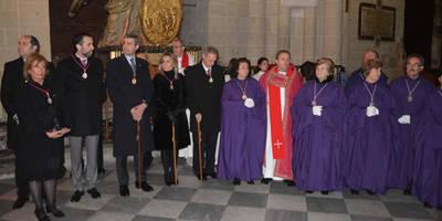 Álvaro Gutiérrez toma parte en la Procesión del Cristo Nazareno Cautivo de Toledo