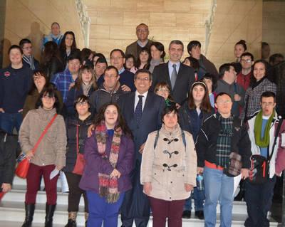 Día Mundial del Síndrome de Down en la Diputación