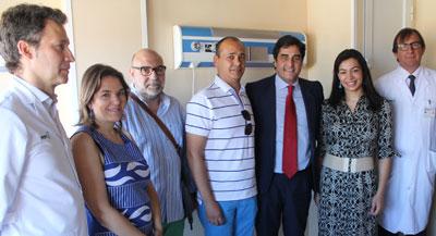 Ya están en marcha las obras de la zona de oncología Pedriática en el Hospital de Toledo
