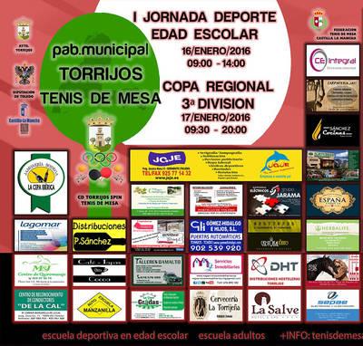 I Jornada de Deporte en Edad Escolar en Torrijos