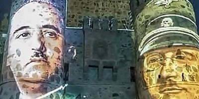 Polémicas imágenes de Franco y el fascismo en Guadamur