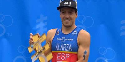 Fernando Alarza se coloca líder del Mundial de Triatlón