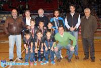 El Soliss FS Talavera homenajeó a los campeones de España en categoría benjamín