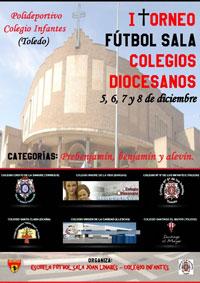 La Escuela de Joan Linares organiza el I Torneo de Fútbol Sala 'Colegios Diocesanos'