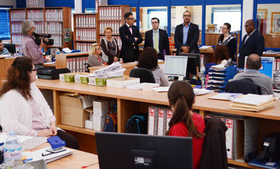 Ciudadanos visita las instalaciones de la OID en Torrehierro