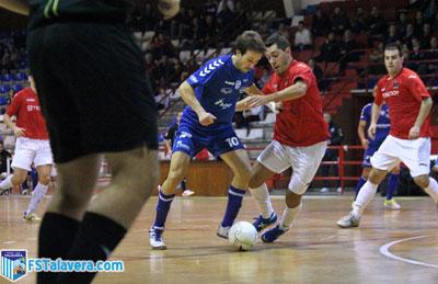 El FS Talavera consigue salir vivo de un mal partido ante Tecnoy Gran Peña