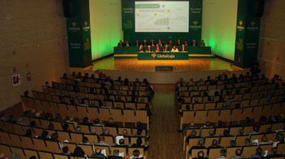 Globalcaja aprueba, en su Asamblea General, las cuentas y la gestión del año 2014