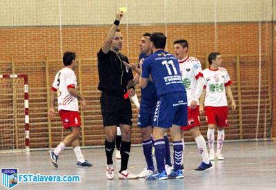 El FS Talavera gana en Leganés y los árbitros le hacen perder