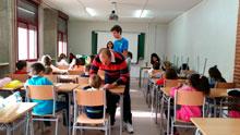 CSIF recoge más de 160 kilos de alimentos para los niños talaveranos