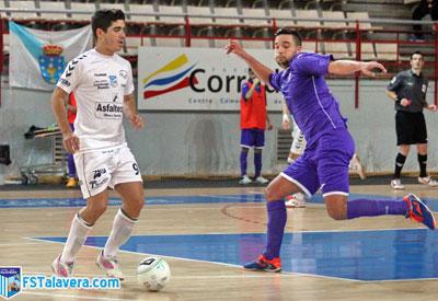 El FS Talavera se lleva los tres puntos de Torrejón de Ardoz a la carrera