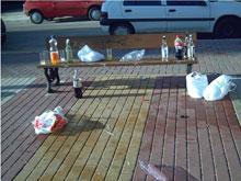 La Policía Local realiza 25 actas por consumir bebidas alcohólicas en la vía pública