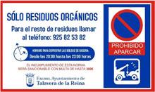 La Policía Local recuerda que tirar la basura fuera del horario se sanciona con multas de 300 euros