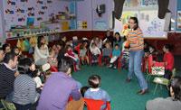 La escuela infantil Bichos recrea la Navidad al modo anglosajón