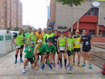 Buena actuación del Talavera Training el 10 kilómetros y Media Maratón Ciudad de Talavera