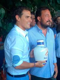 Albert Rivera recibe el Premio Gredos por su contribuci�n a la renovaci�n e innovaci�n del sistema pol�tico espa�ol
