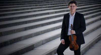 Un violinista talaverano que triunfa en el Teatro Real de Madrid