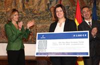Una alumna de la Escuela de Arte de Talavera gana el concurso del logotipo del Quijote