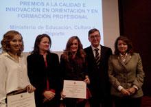 La alumna del IES Ribera del Tajo Mónica Ojea, Premio Nacional de FP