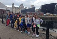 Alumnos del Clemente Palencia perfeccionan su inglés en Liverpool