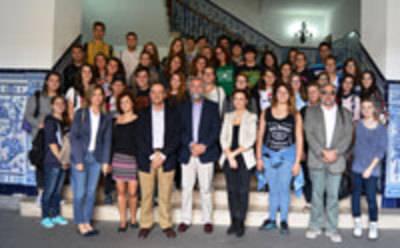 Alumnos italianos conociendo en primera persona la Ciudad de la Cerámica