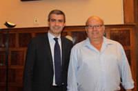 El alcalde de Cardiel de los Montes traslada a �lvaro Guti�rrez la necesidad de acometer obras de progreso