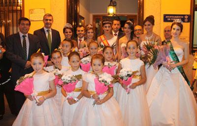 �lvaro Guti�rrez anima a los torrije�os a disfrutar en paz y armon�a de sus fiestas de la Sementera 2015