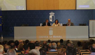 Patricia Franco y �lvaro Guti�rrez presentan el Plan de Empleo a 148 alcaldes de la provincia de Toledo