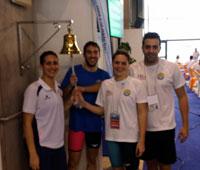 El Club de Natación Aqüis roza la perfección en Pontevedra